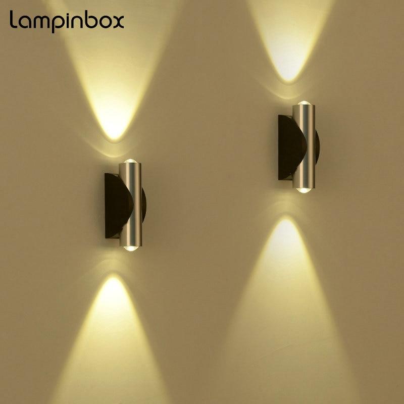 Led Indoor Wall Lamp Bedside Modern Simple Lights