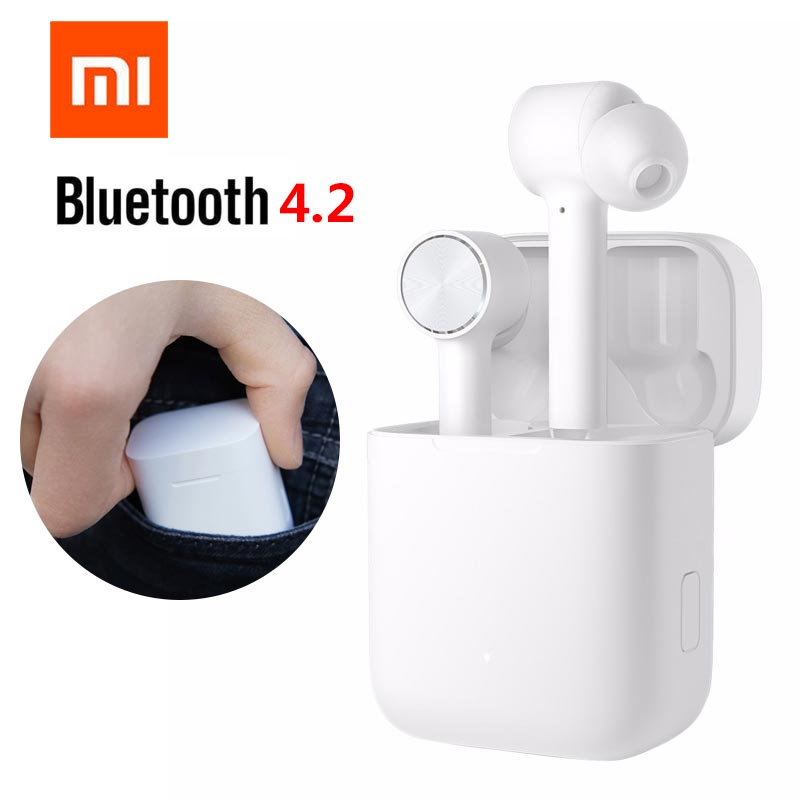 Xiaomi Air Bluetooth casque TWS unique oreille porter AAC HD qualité sonore réduction du bruit appel tactile opération Ephones blanc