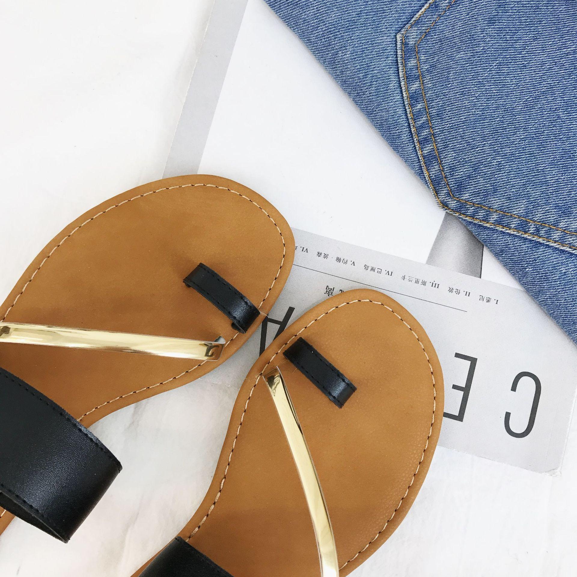 Brown Zapatos Mujer Gold 3025f Dark Zapatillas Cómodo Verano Green Sandalias Black Black C1 Ice Con De Nuevo Blue c4 Planas Y c2 c3 Playa Moda Desgaste wZx4X7Zf
