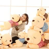 1 stks 60 cm Grote pluche speelgoed teddybeer pop droom meisje creatieve Papa Beer Knuffel Dag Geschenken