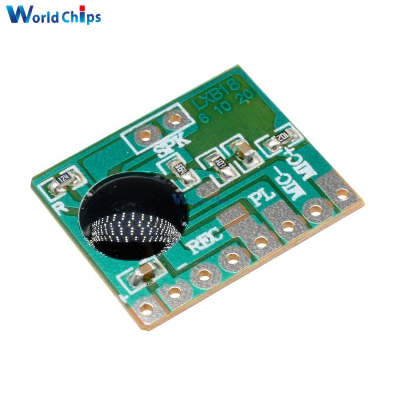 6 S Sonido Voz Audio Grabador Grabable M/ódulo Chip Programable ISD1806B-COB Junta 0.5 W Altavoz para Tarjeta de felicitaci/ón 5 unids 6 seg
