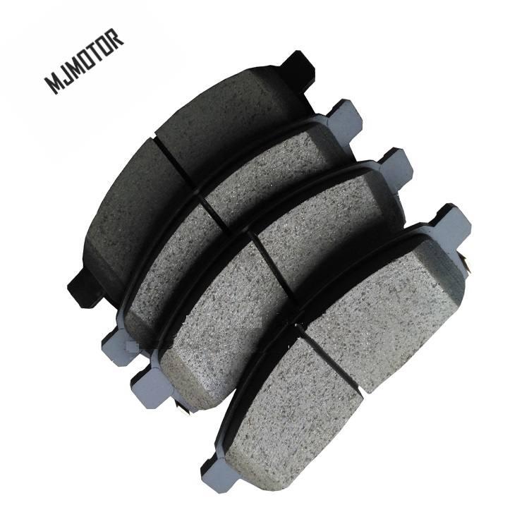 US $36 95 |(4pc/set) Front / Rear Brake pads set KIT FR RR DISC BRAKE for  Japan Mitsubishi PAJERO ORV Auto car motor part 4605A783 4605B026-in Car