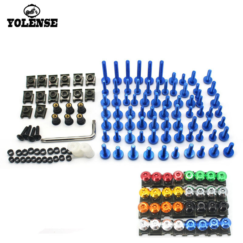 For <font><b>YAMAHA</b></font> YZF R1 R6 R3 R25 FZ1 FZ6 <font><b>FZ6N</b></font> FZ8 XJ6 TMAX 530 500 Motorcycle <font><b>accessories</b></font> custom fairing screw bolt windscreen screw image