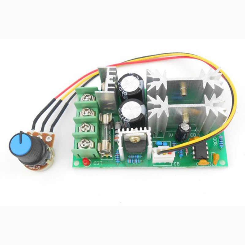 1pc 1200W DC moteur régulateur PWM ventilateur DC moteur régulateur de vitesse Module 20A DC 12 V/24 V/36 V/48 V 25KHZ