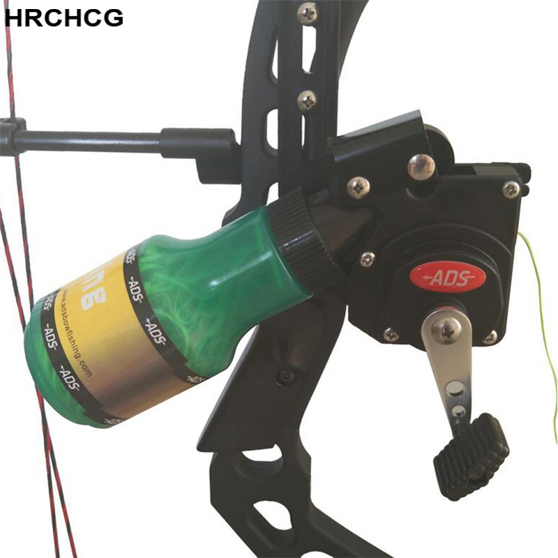 Bowfishing Reel Spincast Reel Slingshot Recurve Compound Bow Shooting Thread No Lost Arrow Hunting Bow fishing Rope Right Left set of shooting bow fishing slingshot catapult hunting set with reel spincast gear ratio 3 3 1