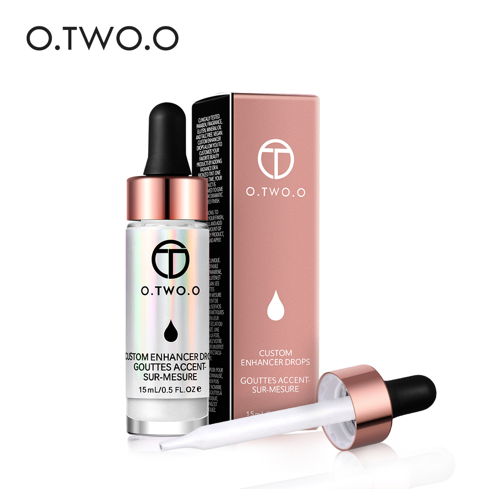 O.TWO.O Liquid Highlighter Illuminating Makeup Contouring Face Brighten Ultra-concentrated Bronzer Shimmer Highlight Cream цена 2017