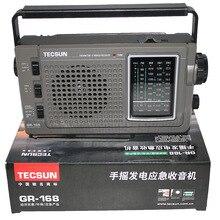 TECSUN GREEN 168 Radio FM / MW / SW manovella dinamo emergenza ricevitore Radio multibanda Radio Vintage