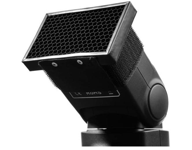 Honey Comb Grid Spot Filter for Canon Flash 600EX RT 580EX II 520EX 300TL