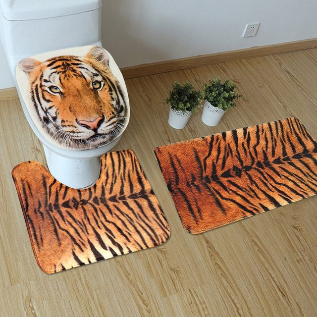 Awesome Tiger Bathroom Accessories Ilration Home Design Ideas