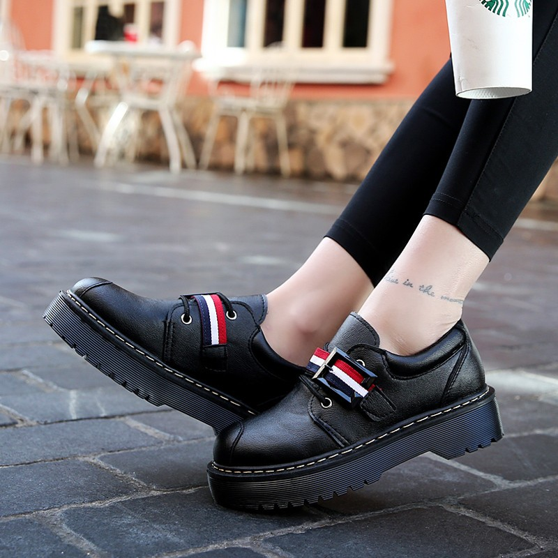 2017 Spring Autumn Platform Women Shoes Patent Leather Lace Up Shoes For Woman Casual Shoes Ladies Flats Zapatos Mujer S151 (34)