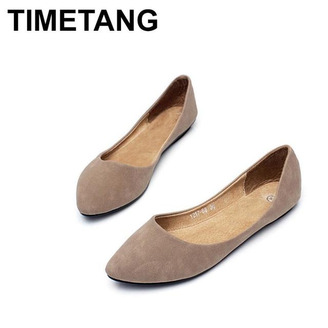 b2e59e0b437b TIMETANG womens sandals shoe Woman Genuine Leather Flat Shoes Fashion Hand-sewn  Leather Loafers Female hole hole shoes Wome