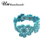 цена на 2017 Cuff Leather rhinestone Bracelets & Bangles Bracelet Pulseiras Carters Pulseira Feminina Bangle For Women Bileklik Jewelry