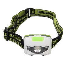 Jiguoor 1200 Lumen R3+2LED 4 Models Portable Mini Headlamp Headlight  Flashlight Torch Lamp For Hiking Camping Light For Cycling