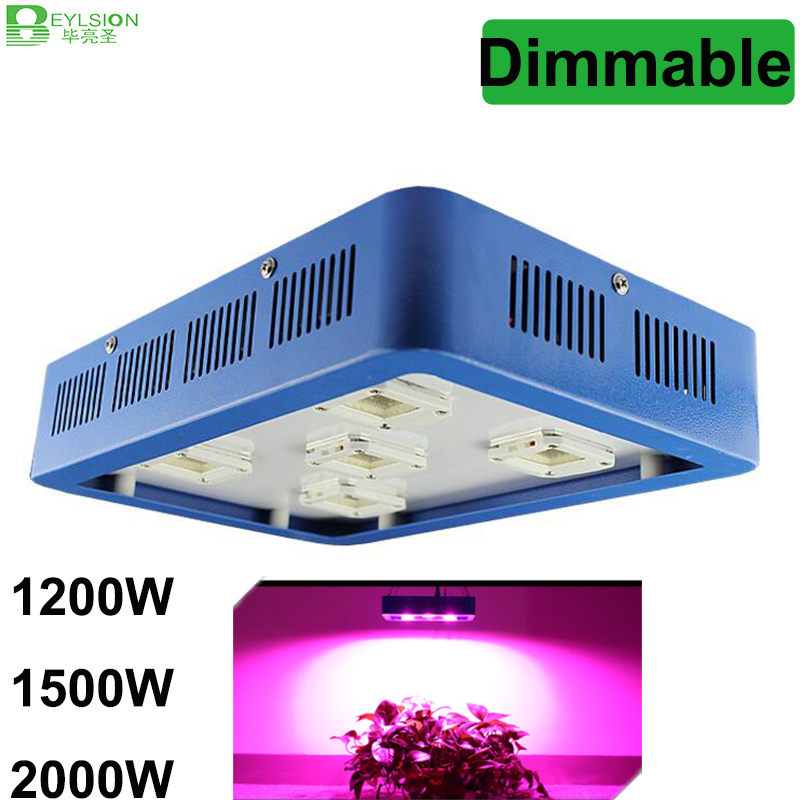 BEYLSION LED COB Full Spectrum 1200W 1500W 2000W Dimmable LED growing light for plant AC85 265V