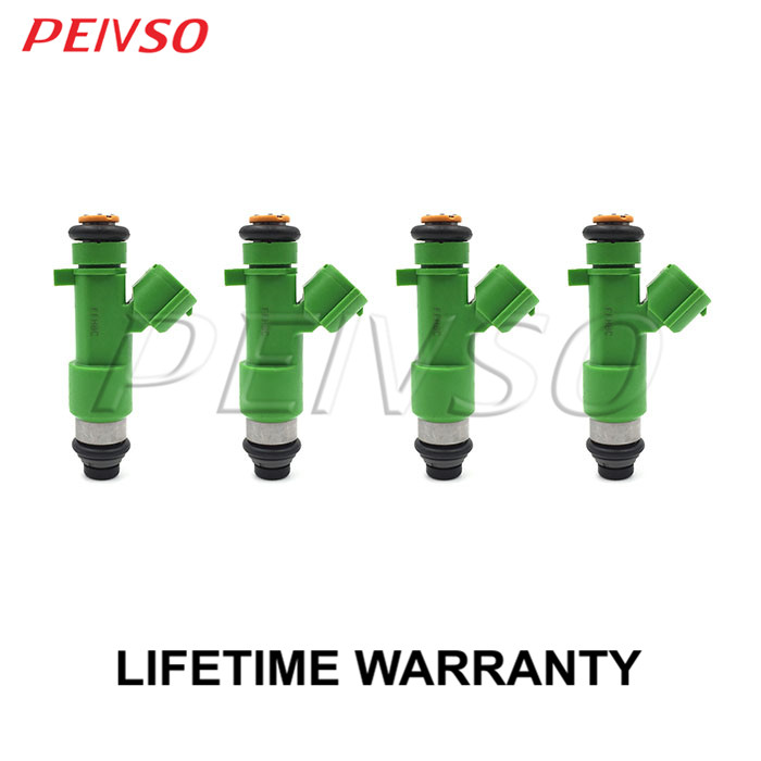 4x 16600 JK20A fuel injector for NISSAN URVAN 2008 2013 2 5L L4