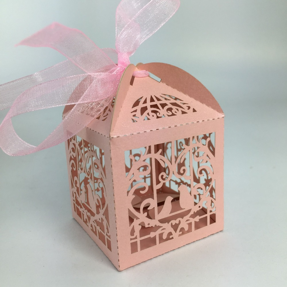 2016 250g Best Hot Sale Pearl Paper Wedding Favor Box Wedding Door