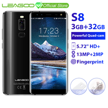LEAGOO S8 3GB 32GB Mobile Phone Android 7.0 5.72' Full Displ