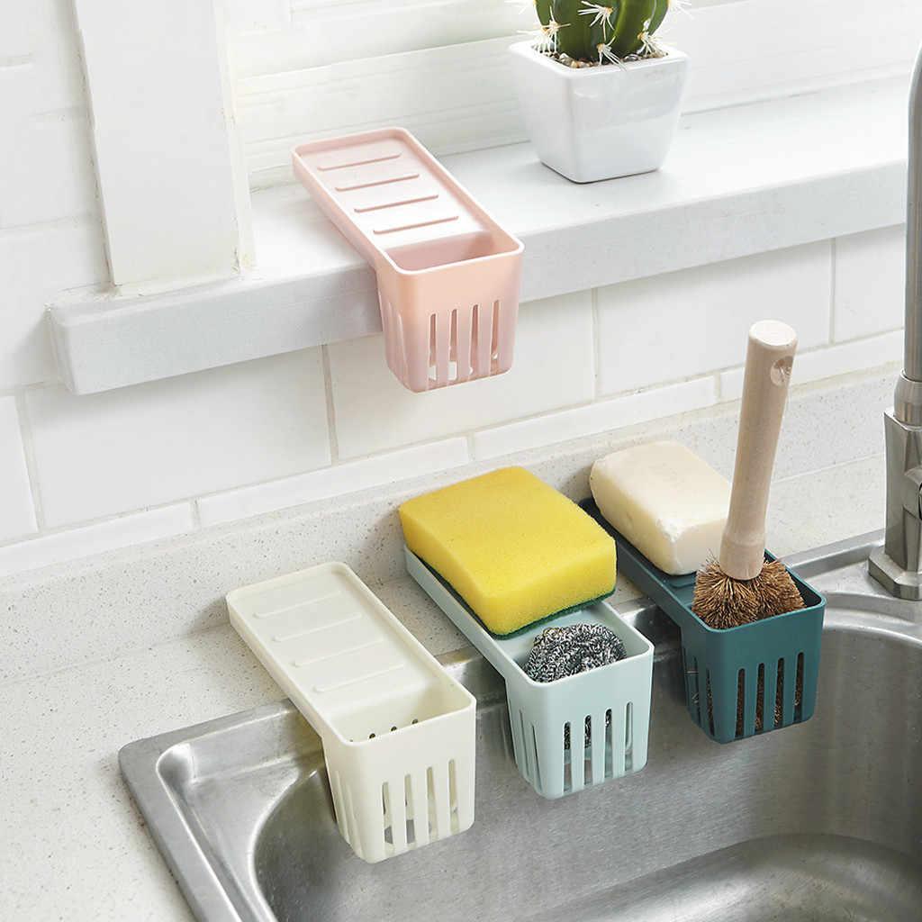 Corner Organizer Bathroom Caddy Shelf Drain Kitchen Storage Rack Sink Dish Sponge Soap Scrubbers Drying Holder Rangement Cuisine Racks Holders Aliexpress