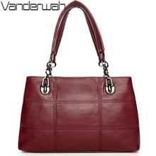 Vanderwah Женская ручка сумки женщины известные бренды женской Вышивка Повседневная сумка для девочек мешок основной
