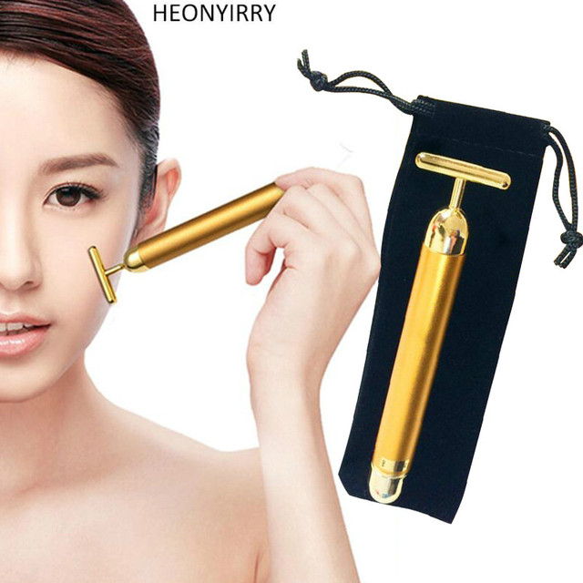 24k Womens Anti-Wrinkle Facial Roller Pulse Vibrating Massager Best Face Forward Daily Foaming Facial Cleanser - 5 fl. oz. by Formula 10.0.6 (pack of 12)
