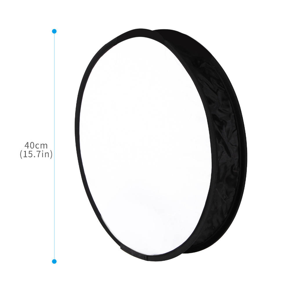 40cm Universa Fordable Flash Speedlite Softbox Diffuser Portable Light Control Gear for Canon Nikon