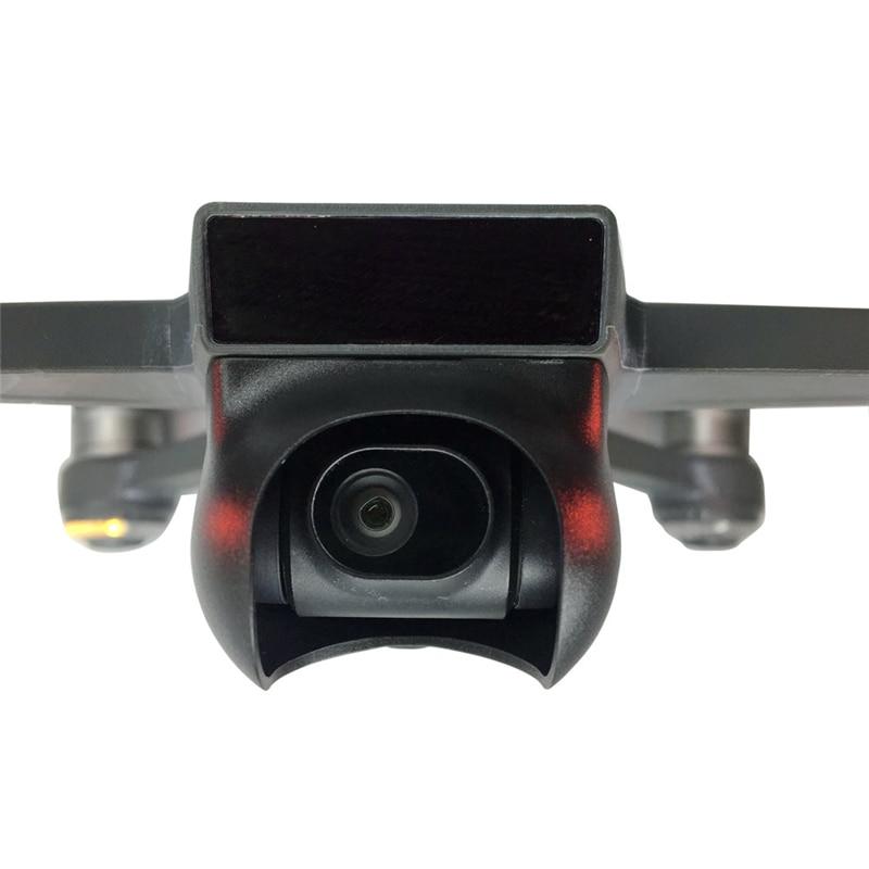 Part /& Accessories Camera Sunhood for Spark Gimbal Camera Lens Hood Protective Cap Drone UVA Accessory F21725//7 Color: Black