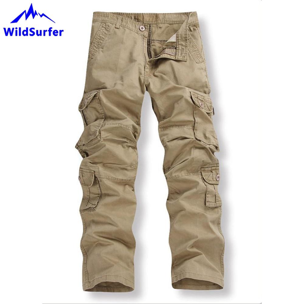 WildSurfer Pantalon Hombre Militar Homme chasse randonnée Pantalon Homme pantalons de survêtement tactique Pantalon pêche Spodnie Trekkingowe WP97