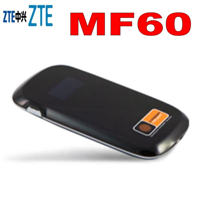 Unlocked <font><b>ZTE</b></font> <font><b>MF60</b></font> HSPA+ 21M 3G Wireless Router WiFi Mobile Hotspot Broadbrand image