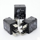 5pcs /lot Automotive Relay 12V 30A 4 feet normally open water pump with fog