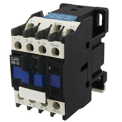 CJX2-0910 AC Contactor 9A 3 Phase 3-Pole NO 380V 50/60Hz CoilCJX2-0910 AC Contactor 9A 3 Phase 3-Pole NO 380V 50/60Hz Coil