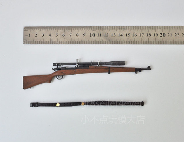 9387f6d7aee 1 6 WWI WWII US Army Marine M1903 Springfield rifle Soldiers of the World GI