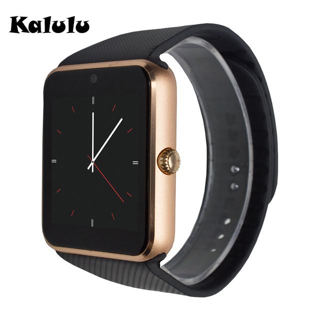 Gt08 usado como telefone do relógio bluetooth smart watch para android universal com Câmera SIM Mic Música Sincronização Mensagem Melhor do que U8 DZ09