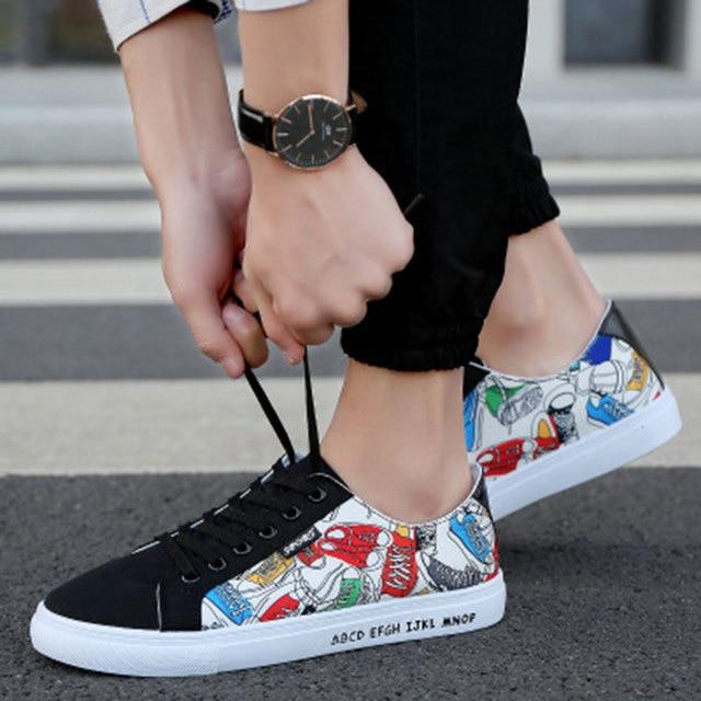 e98525d2a58f2 2018 qualité toile chaussures mode sans lacet confortable hommes été  baskets hommes chaussures décontractées chaussure homme