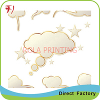 self adhesive hair extention labels printing package labels for bottles