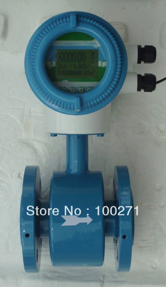 ETF5000 DN50 Intelligent electromagnetic flowmeter, sewage flow meter, mud flow meter, electroplating wastewater flow meter buoy inhalator flow meter tidal oxygen bottle