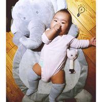 Hayvan Fox Fil koyun Peluş Bebek Tırmanış Paspaslar Oyuncak Çocuklar Toddler Battaniye Kapak Kızlar Gelişmekte INS Halı lapin Yer Minderi