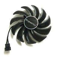 87MM GPU Cooler Fans Cooling Fan For Gigabyte GeForce GTX 1070 1050 Ti GTX 1060 RX