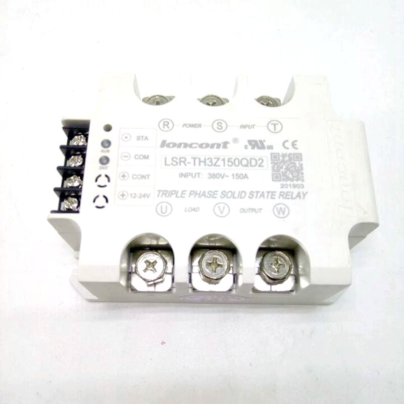 Enhanced phase protection type three phase AC solid state relay 150A reputation brand import quality