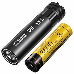 Lo mejor en ventas, difusor retráctil de batería recargable NITECORE LR12 18650, permite la lectura de la linterna, el Camping, envío gratis
