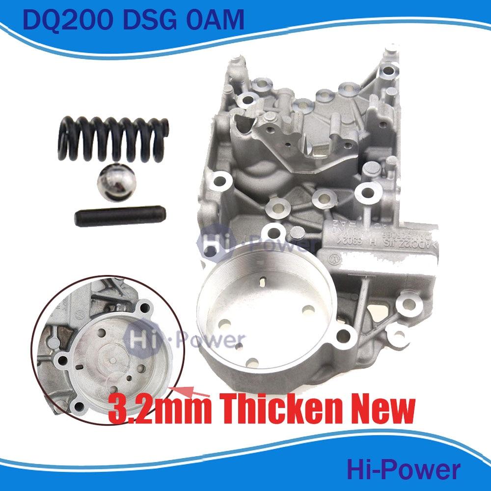 0AM DQ200 DSG boîtier d'accumulateur de carrosserie pour AUDI Skoda Seat Passat 0AM325066AC 0AM325066C 0AM325066R