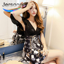 Jersqons Women Sexy Flounces Swimsuit Dress with Short Hot Spring Swimwear for One Piece Skirt Bathing Suit