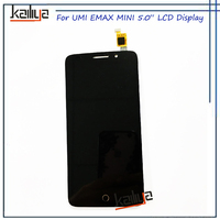 NEW For UMI EMAX Mini LCD Display 5 0 Inch Black Touch Screen Digitizer Assembly Replacement