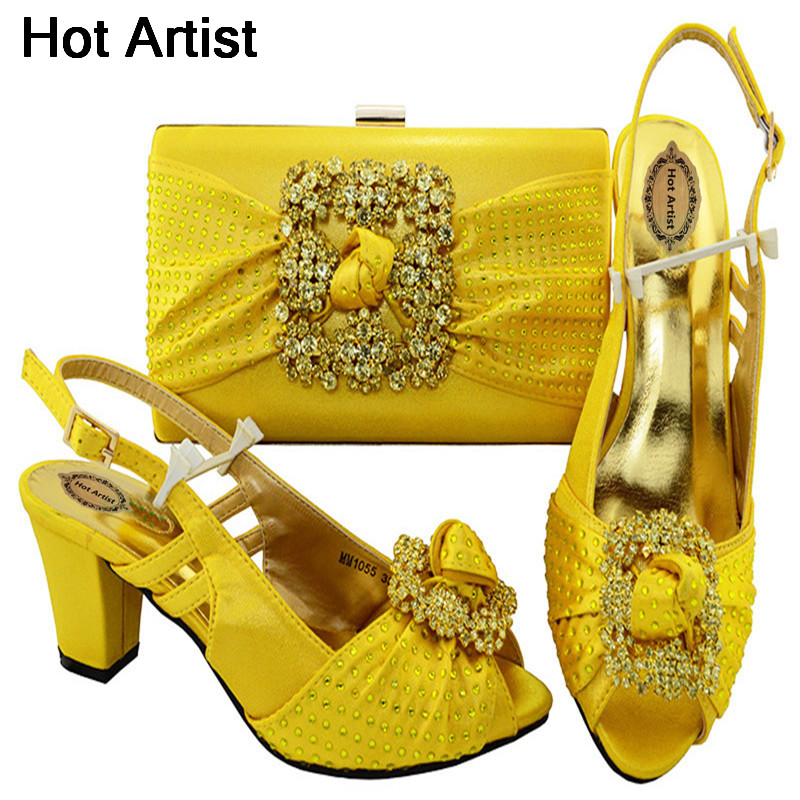 Hot Artist Italian Shoes With Matching Bags For Wedding Women Shoes And Bag To Match For Parties Nigerian Shoes And Bag MM1055 italian visual phrase book