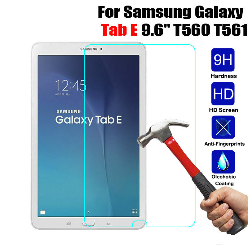"FULL COVERAGE Curved Screen Protector for Samsung Galaxy Tab E 9.6/"" SM-T567V USA"