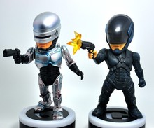 Cute Anime 1987 2014 ROBOCOP 2 Style LED Light  20CM PVC Action Figure Doll Toys