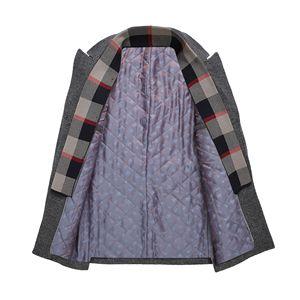 Image 3 - Erkek Casual Trençkot Moda Iş Uzun Kalınlaşmak Ince Palto Ceket Avrupa boyutu Dropshipping