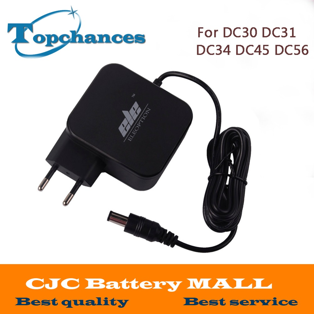 High quality AC Adapter Battery Charger EU US plug adapter for Dyson DC30 DC31 DC34 DC35