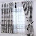 Европа Роскошные благородные оконные шторы для гостиной кухни Новое поступление изысканные затемненные шторы для спальни тюль для ткани