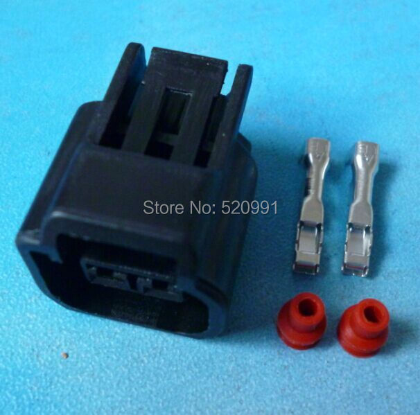 popular ford coil connector buy cheap ford coil connector lots 200sets 2 3mm female 2p connector focus ignition coil ignition coil plug for ford