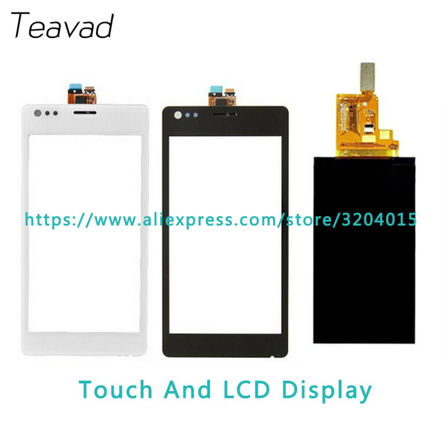 Replacement part 4.0'' For Sony Xperia M C1904 C1905 LCD Display Screen and Touch Screen Digitizer Sensor + Tracking Code